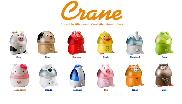 Amazon. Crane Adorable Ultrasonic Cool Mist Humidifier Review