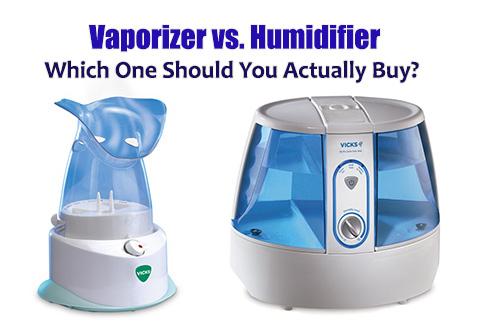 Vaporizer vs Humidifier