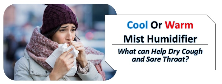 cool or warm mist for cough