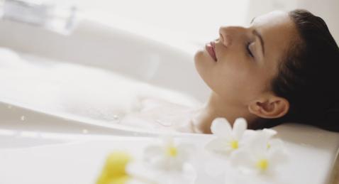 essential oils for bath