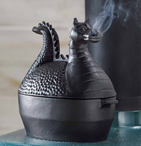 Wood Stove Humidifier Dragon Design