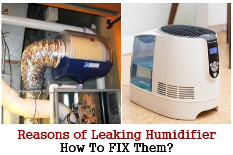 leaking humidifier