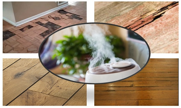 Humidifier and hardwood floors
