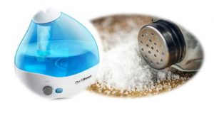 salt in humidifier
