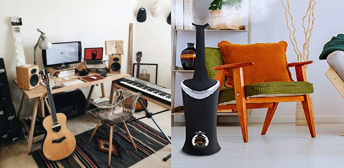 best humidifier for guitar room